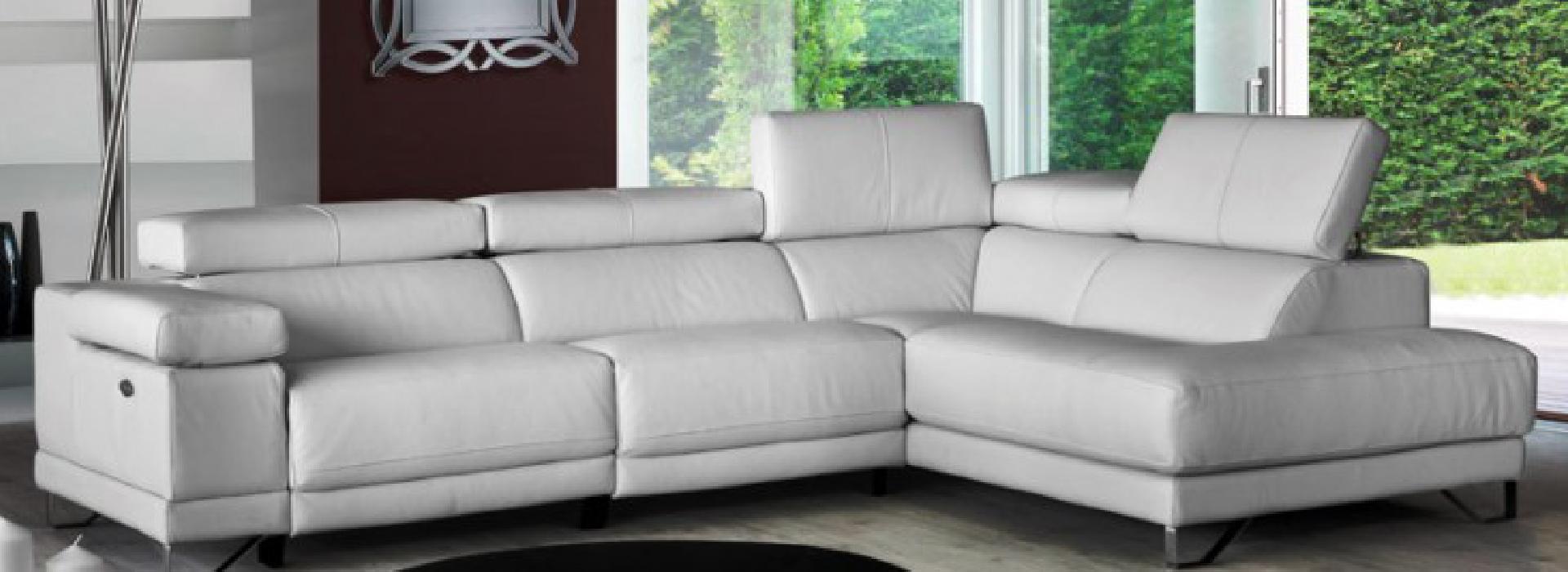 cómo hidratar un sofá de piel blanco
