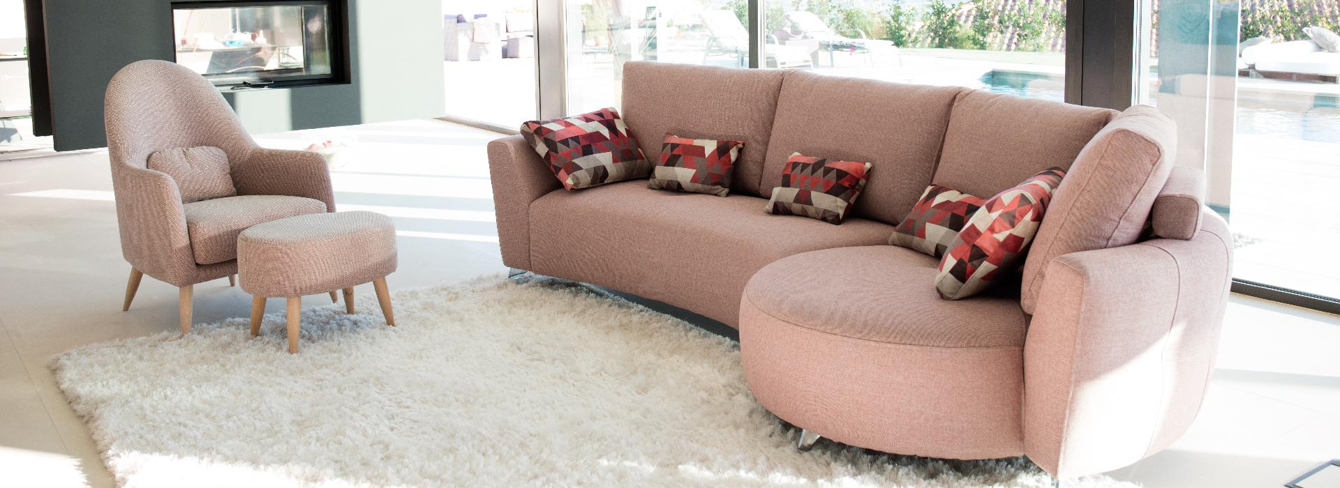 sofás de tela